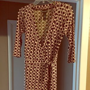 Size 4 Bisou Bisou wrap dress